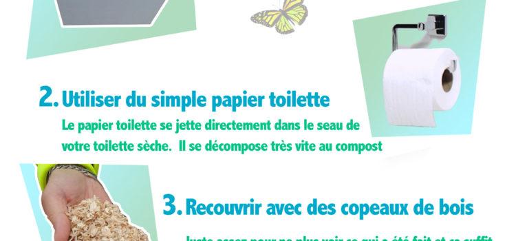 Toilette sèche : mode d'emploi